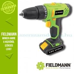 Fieldmann FDV 10201-A akkumulátoros fúró-csavarozó 12V
