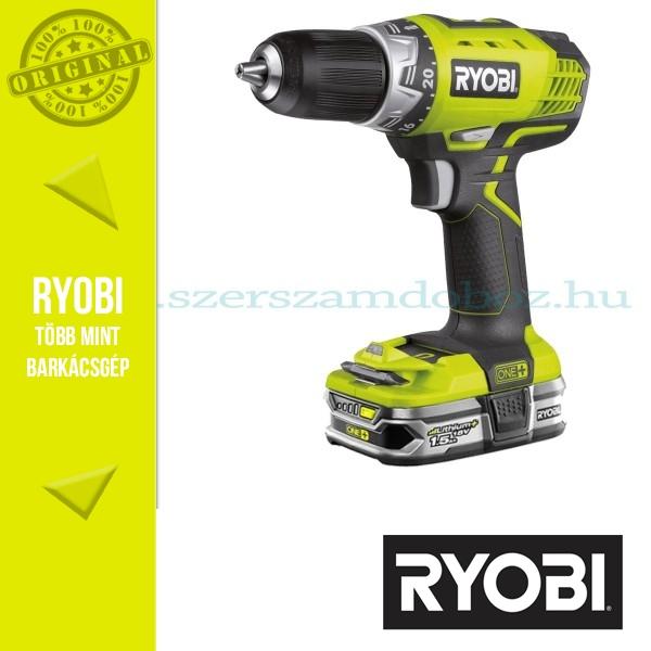 Ryobi RCD1802M Akkus fúró-csavarozó  18V 1,5Ah