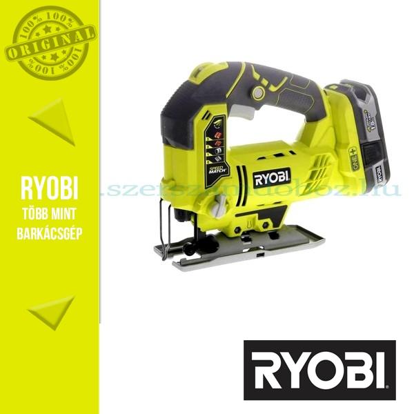 Ryobi R18JS akkus szúrófűrész 18V 1,5Ah