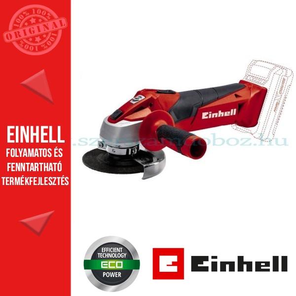 Einhell TC-AG 18/115 Li - Solo akkumulátoros sarokcsiszoló alapgép