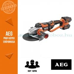 AEG BEWS18-230BL LI-402B akkus sarokcsiszoló