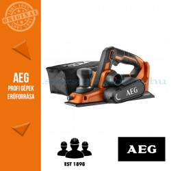 AEG BHO18BL-0 akkus gyalu alapgép