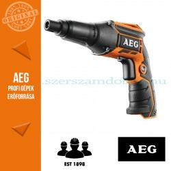 AEG BTS12C-0 akkus gipszkarton csavarozó alapgép