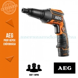 AEG BTS12CLI-202C akkus gipszkarton csavarozó 2x2.0Ah akku