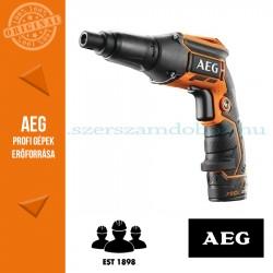 AEG BTS 12 CLI-302C akkus gipszkarton csavarozó 2x3.0Ah akku