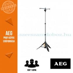 AEG LUS-210X könnyű háromlábú állvány lámpákhoz, kartondobozban