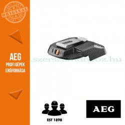AEG BHJ18C-0 töltő csatlakozó akku nélkül