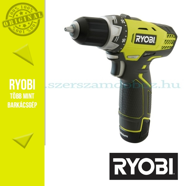 Ryobi RCD12012L Akkus fúró-csavarozó 12V 1,3Ah