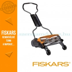 Fiskars StaySharp Max kézi fűnyíró