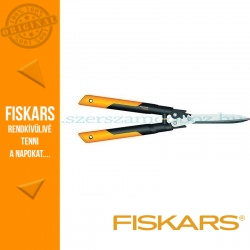 Fiskars PowerGearX fém fogaskeres sövénynyíró HSX92