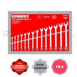 Kennedy Csillag-Villáskulcs készlet 14db