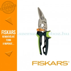 Fiskars POWERGEAR AVIATION lemezvágó olló, jobb