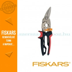 Fiskars POWERGEAR AVIATION lemezvágó olló, bal
