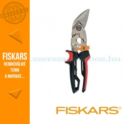 Fiskars POWERGEAR AVIATION lemezvágó olló offset, bal