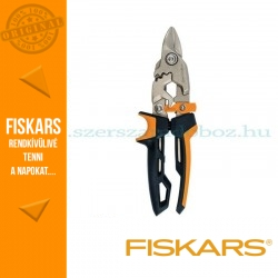 Fiskars POWERGEAR AVIATION lemezvágó olló bulldog