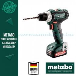 Metabo PowerMaxx BS 12 akkus fúrócsavarozó 2x2.0 Ah