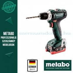 Metabo PowerMaxx BS 12 akkus fúrócsavarozó 2x4.0Ah