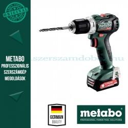 Metabo PowerMaxx BS 12 BL akkus fúrócsavarozó 2x2.0 Ah