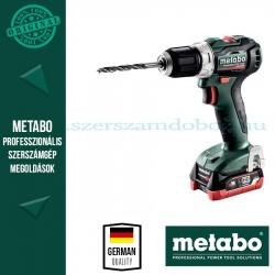 Metabo PowerMaxx BS 12 BL akkus fúrócsavarozó 2x4.0 Ah