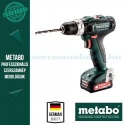 Metabo PowerMaxx SB 12 akkus ütvefúrógép 2x2.0 Ah