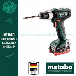 Metabo PowerMaxx SB 12 akkus ütvefúrógép 2x4.0 Ah