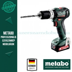 Metabo PowerMaxx SB 12 BL akkus ütvefúrógép 2x2.0 Ah