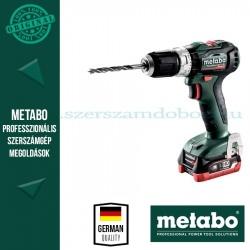 Metabo PowerMaxx SB 12 BL akkus ütvefúrógép 2x4.0 Ah