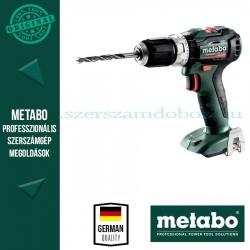 Metabo PowerMaxx SB 12 BL akkus ütvefúrógép alapgép