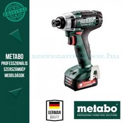 Metabo PowerMaxx SSD 12 akkus ütvecsavarozó 2x2.0 Ah