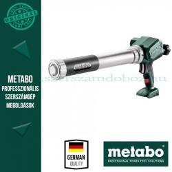 Metabo KPA 12 600 akkus kartuspisztoly alapgép