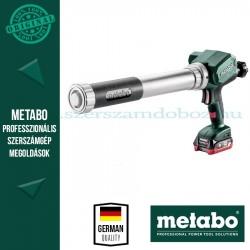 Metabo KPA 12 600 akkus kartuspisztoly 1x4.0Ah