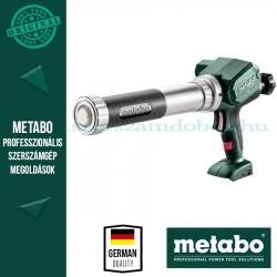 Metabo KPA 12 400 akkus kartuspisztoly alapgép