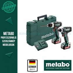 Metabo Combo Set 2.7.1 12 V PowerMaxx SSD 12 akkus fúrócsavarozó + PowerMaxx BS 12 akkus fúrócsavarozó