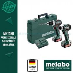 Metabo Combo Set 2.7.3 12 V PowerMaxx SSD 12 BL akkus fúrócsavarozó + PowerMaxx BS 12 BL akkus fúrócsavarozó