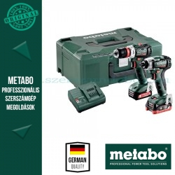 Metabo Combo Set 2.7.4 12 V PowerMaxx SSD 12 BL akkus fúrócsavarozó + PowerMaxx BS 12 BL Q akkus fúrócsavarozó