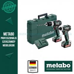 Metabo Combo Set 2.7.5 12 V PowerMaxx SSD 12 BL akkus fúrócsavarozó + PowerMaxx SB 12 BL akkus ütvecsavarozó