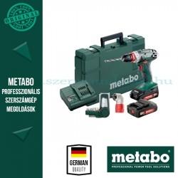 Metabo BS 18 Quick Set akkus fúró-csavarozó
