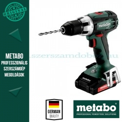 "Metabo BS 18 LT akkus fúrócsavarozó 2 x 2.0 Ah + ASC 55 ""AIR COOLED"""