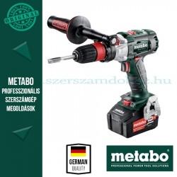 Metabo GB 18 LTX BL Q I akkus menetfúró 2 db Spec.tokmány, 2x 5,2Ah