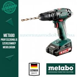 Metabo SB 18 akkus ütvefúrógép 2x 1.3 Ah