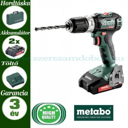 Metabo SB 18 L BL akkus ütvefúrógép 2x2.0 Ah + SC 60 Plus