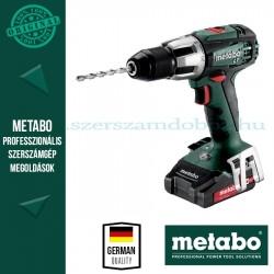 Metabo SB 18 LT Compact ütvefúrógép (2x LiHD 2.0 Ah, ASC 30-36)