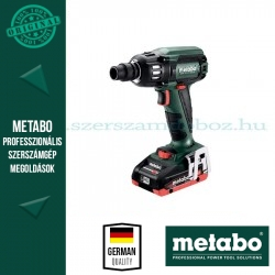 Metabo SSW 18 LTX 400 BL*Akkus-Ütvecsavarozó 2 x 4,0 Ah LiHD