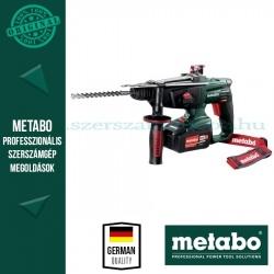 Metabo KHA 18 LTX 18 V akkus kombikalapács 2x5,2 Ah
