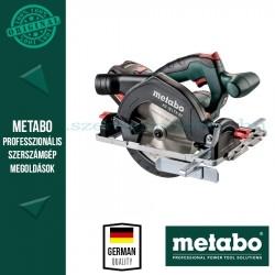 Metabo KS 18 LTX 57 akkus körfűrész 2 x 5,2 Ah