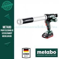 Metabo KPA 18 LTX 600 akkus kartuspisztoly 1x4.0Ah