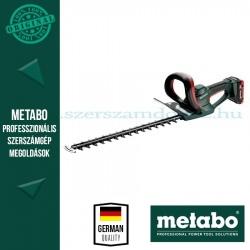 Metabo AHS 18-55 V akkus sövényvágó 2x4.0Ah