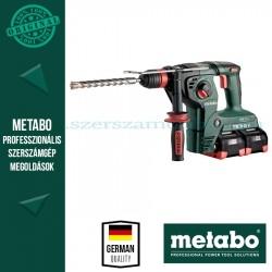 Metabo KHA 36-18 LTX 32 akkus kombikalapács 4x8.0Ah + 2x ASC ultra