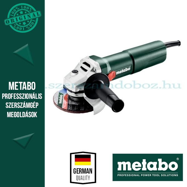 Metabo W 1100-125 sarokcsiszoló
