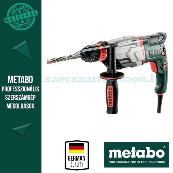 Metabo KHE 2660 Quick Kombikalapács 3J (2 Tokmány)